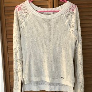 Women's Small High Low Light Sweater